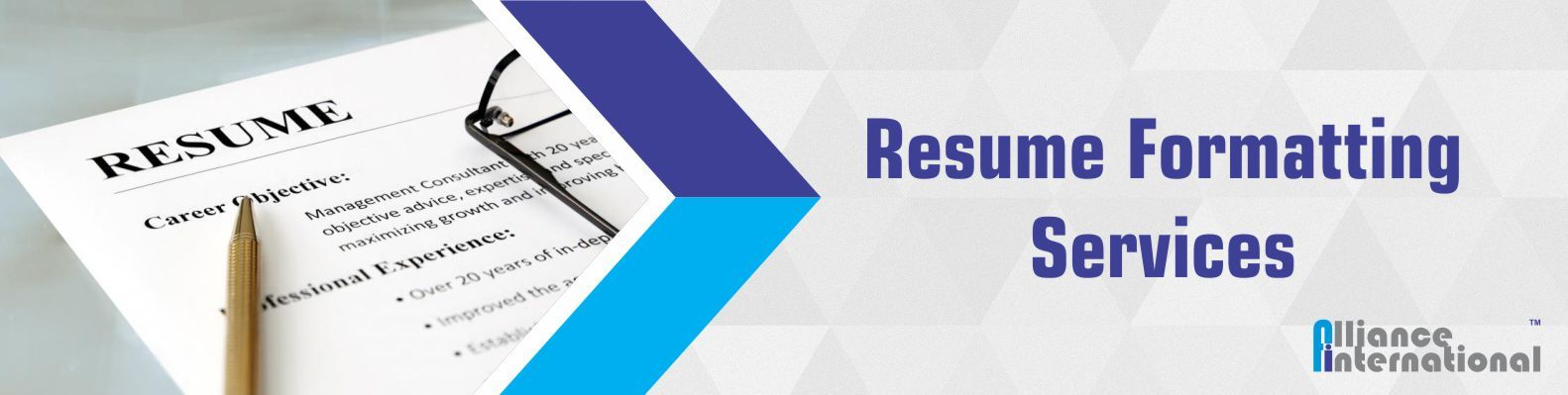 Resume Formatting Services – Leading CV Formatting Agency India