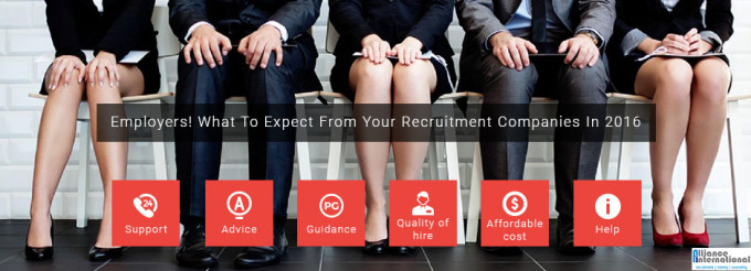 What to expect from a recruitment company