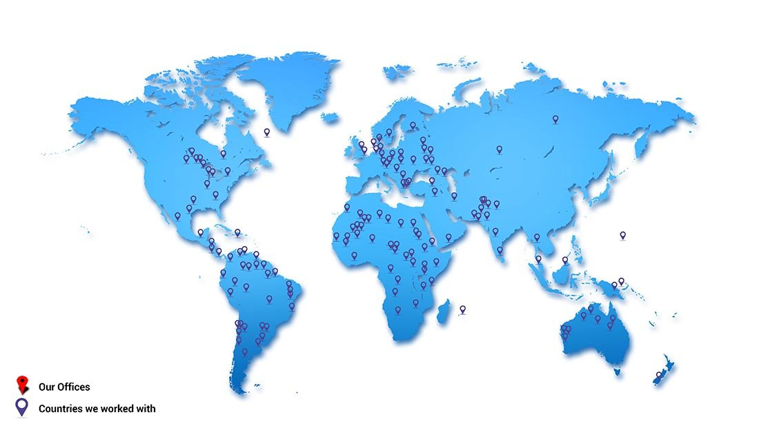 alliancerecruitmentagency world map