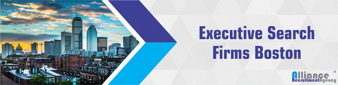 Executive Search Firms Boston - Alliance Recruitment Agency