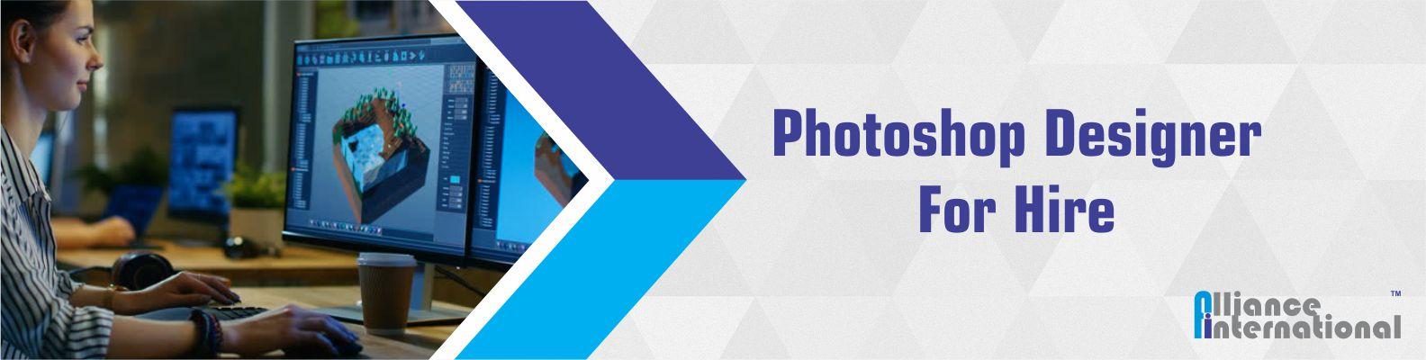 Photoshop Designer For Hire